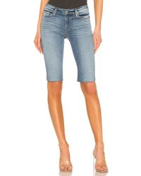 Hudson Jeans - Amelia Cut Off Knee Short - Lyst