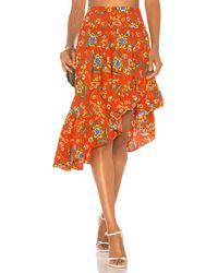 Joie - Clarke Skirt In Red - Lyst