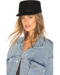 90b0982e56b Lyst - Brixton Dalila Hat in Black