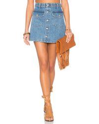 Tularosa - Madelyn Mini Skirt - Lyst