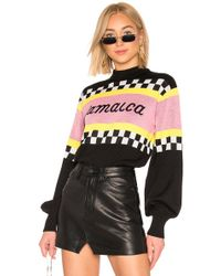 MSGM - Jamaica Racing Jumper - Lyst