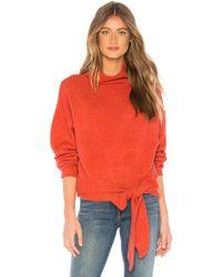 Line & Dot - Oriana Tied Sweater - Lyst