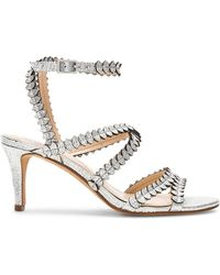 Vince Camuto - Yuria Heel In Metallic Silver - Lyst