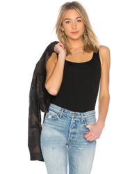 Getting Back to Square One - Square Neck Bodysuit In Black - Lyst