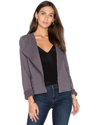 Soft Joie - Jayla Cotton Moto Jacket - Lyst