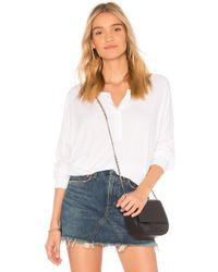 Wildfox - Button Up Tee - Lyst