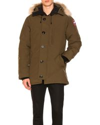Canada Goose - Chateau Parka With Coyote Fur Trim - Lyst