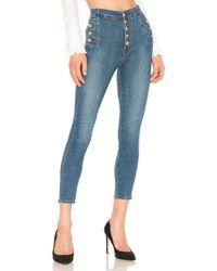 J Brand - Natasha Sky High Skinny Cropped Jean - Lyst