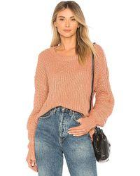 Heartloom - Portia Sweater In Pink - Lyst