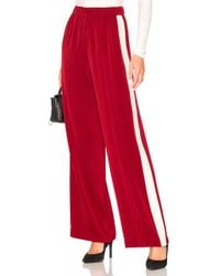Elizabeth and James - Kelly Pant In Red - Lyst