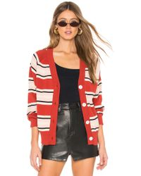 Callahan - Campbell Cardigan In Red - Lyst