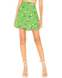 Clayton - Mallory Skirt In Green - Lyst