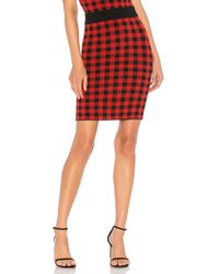 Ronny Kobo - Kelda Skirt In Red - Lyst