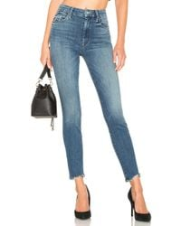 Mother - High Waisted Looker Ankle Chew - Lyst
