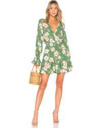 Rachel Pally - Crepe Amaya Dress In Green - Lyst
