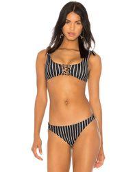 Amuse Society - Lia Bralette Bikini Top In Black - Lyst