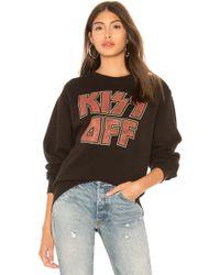 Junk Food - Kiss Off Sweatshirt - Lyst