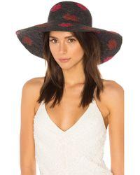 Yestadt Millinery - Kisses Packable Hat In Black - Lyst