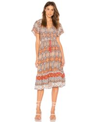 MINKPINK - Days In Marrakesh Midi Dress - Lyst