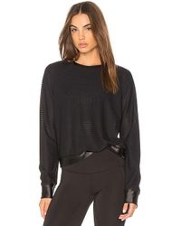 Koral - Sofia Pullover In Black - Lyst