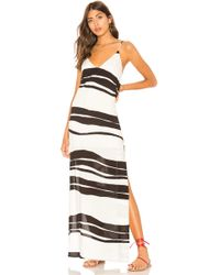 ViX - Milos Dress In Black & White - Lyst