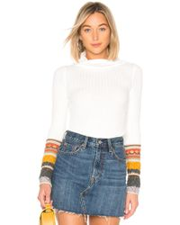 Free People - Mixed Up Cuff Jumper - Lyst
