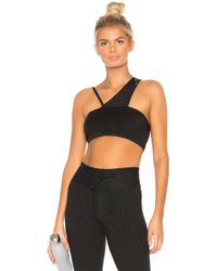Year Of Ours - Barre Sports Bra In Black - Lyst
