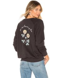 Spiritual Gangster - Know Classic Crew Sweatshirt In Charcoal - Lyst