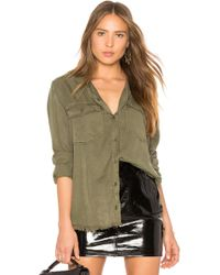 Sanctuary - Gibson Button Down Shirt In Army - Lyst