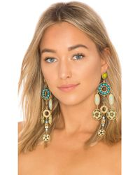 Marc Jacobs - Jeweled Statement Earring In Metallic Gold. - Lyst