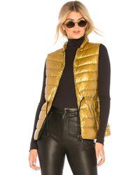 Mackage - Izzy M Vest In Metallic Gold - Lyst