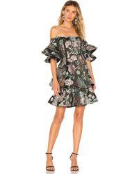 9d13c192af8 Thurley - Oriental Jacquard Mini Dress - Lyst