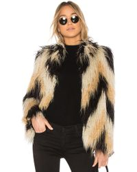 House of Harlow 1960 - X Revolve Dee Faux Fur Coat - Lyst