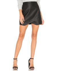 BB Dakota - Jack By Angeline Faux Leather Skirt In Black - Lyst