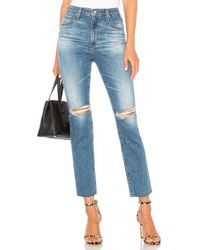AG Jeans - Isabelle Jean In Blue - Lyst