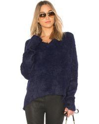 Frankie - Oversized Varsity Sweater - Lyst