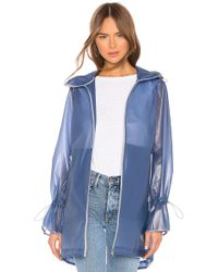 7b03365e01e1 Nike Woven H2o Raincoat in Green - Lyst
