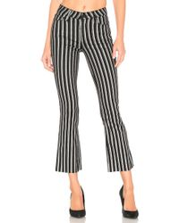 PAIGE - Colette Cropped Flare Trousers - Lyst