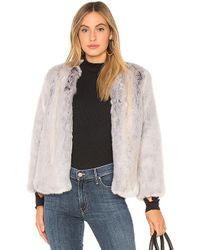Krisa - Camila Faux Fur Jacket - Lyst