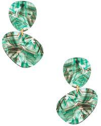 Amber Sceats - Alessia Earrings In Green. - Lyst