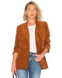 Blank NYC - Double Breasted Corduroy Jacket - Lyst