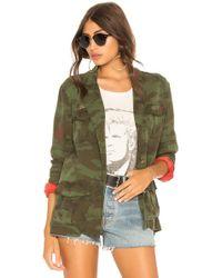 Pam & Gela - Camo Jacket In Army - Lyst