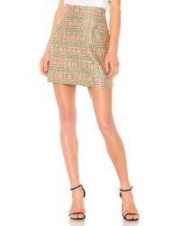 Cynthia Rowley   Bonfire Mini Skirt   Lyst