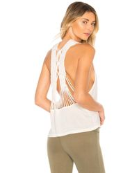 Free People - Movement Wilder Tank In White - Lyst