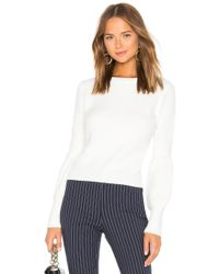 Line & Dot - Eclair Sweater In White - Lyst