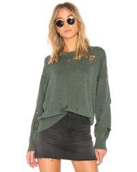 LNA - Carlton Distressed Sweater - Lyst