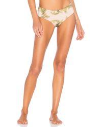 Cali Dreaming - Le Garcon Bikini Bottom In Beige - Lyst
