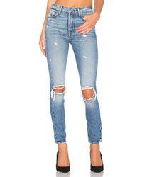 GRLFRND - Karolina High-rise Skinny Jean In Denim Medium - Lyst