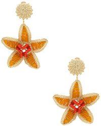 Mercedes Salazar - Dioscorea Amarilla Arete Earring In Orange. - Lyst
