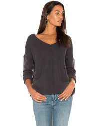 BB Dakota - Jack By Comber Sweater In Charcoal - Lyst
